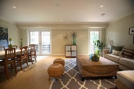 rug on carpet. Trendy Living Room Photo In San Francisco Rug On Carpet O