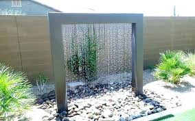 modern outdoor water feature outside modern outdoor wall water features