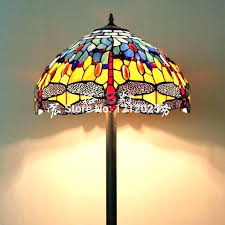 stained glass floor lamp luxury stained glass floor lamps or 3 light belle floor lamp stained stained glass