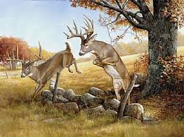 cool hunting backgrounds. Ideal Cool Hunting Backgrounds White Tail Deer Painting Art By Larry Chandler
