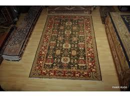 elegant charcoal black fine handmade persian chobi rug