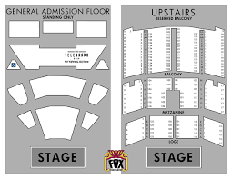 Fox Theater Seating Chart View Tickets Box Office Fox Theater