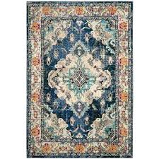 navy blue area rug 5x8 solid 8x10