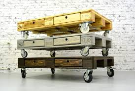 Build Pallet Coffee Table On WheelsPallet Coffee Table On Wheels