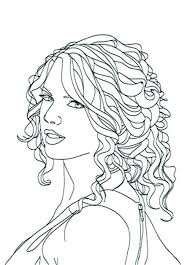 Taylor Swift Coloring Pages 1989 Page Online Free Printable Mandala