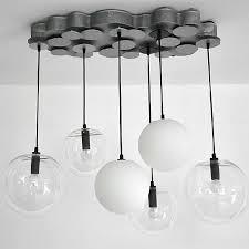 modern clear glasatte glass pendant lighting 10505