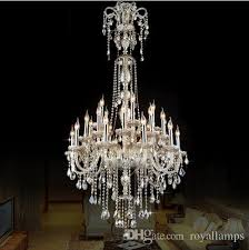 antique rustic cognac crystal chandelier led re luxury long large chandelier lighting villa living room lampadari e14 suspension light chandelier
