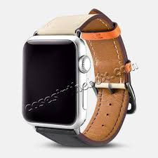whole i carer for apple watch band 44mm 42mm cow genuine leather strap series