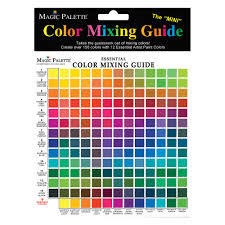 Colour Mixing Chart Pdf 48 Competent Mixing Color