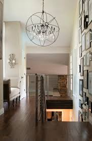 restoration hardware foucault s orb crystal iron chandelier