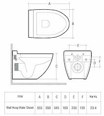 standard toilet dimensions water closet size best idea standard toilet dimensions from wall hung tank code