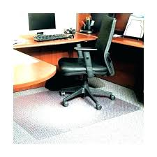 plastic mat for under puter chair office floor mats desk plush carpet