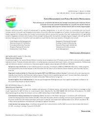 Cv Account Pr Account Manager Resume National Template Executive Cv