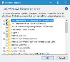 windows 10 net framework 3 5 issues