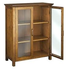 Cabinet With Glass Doors Display Cabinet With Glass Door Wood