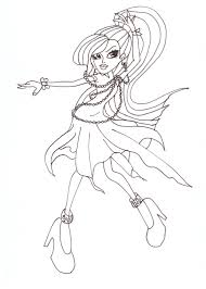 Small Picture Free Printable Monster High Coloring Pages Spectra Dot Dead