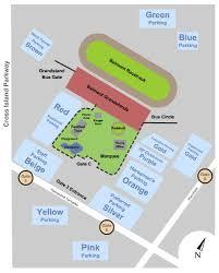 Belmont Park Seating Chart Belmont Park Raceway Parking Lots Tickets And Belmont Park