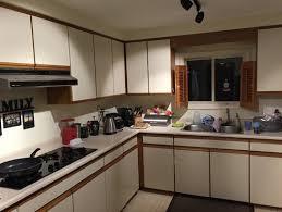 kitchen white melamine