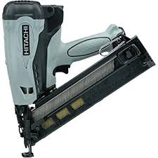 hitachi 2nd fix nail gun. hitachi nt65gap9 15 gauge 2-1/2-inch gas powered angled finish nailer 2nd fix nail gun