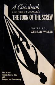 book cover design by orest for a casebook on henry james s the turn of the edited by gerald willen new york crowell c1960 from crossett library