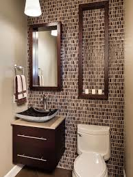 small half bathroom decor. Small Half Bathroom Designs Inspiration Decor Fascinating Ideas Brown Remodeling