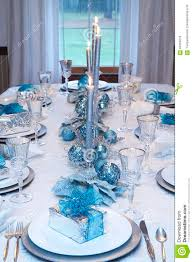 Blue And Gold Table Setting Baby Nursery Formalbeauteous Images About Festive Table Settings