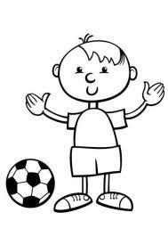 Leuk Voor Kids Sport Voetbal Kleurplaten Home Design