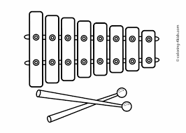 Small Picture Picture Musical Instrument Coloring Pages 69 For Your To Print