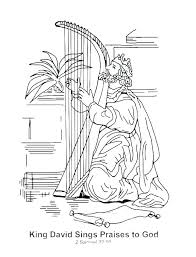 David And Goliath Coloring Pages Coloring For Babies Amvame