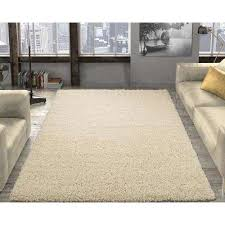contemporary solid beige 7 ft x 9 ft area rug