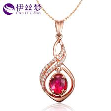 lois dream authentic 60 points natural burmese ruby pendant necklace k rose gold with diamond pendant love in on alibaba com