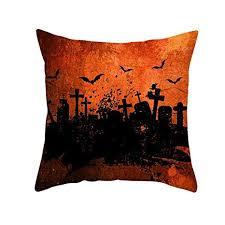Befied <b>Halloween</b> Theme <b>Pillow</b> Covers Happy <b>Halloween Castle</b> ...