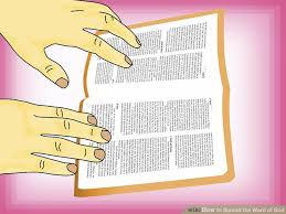 the word of how to spread the word of god 7 steps with pictures wikihow