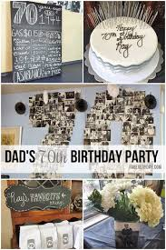dels from dad s milestone 70th birthday party décor black white and gray chevron color scheme or visit fabeveryday for more planning