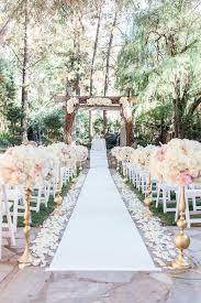 outdoor wedding venues. The Redwood Room at Calamigos Ranch PC crystalnicolephotography