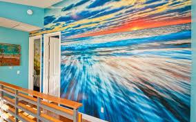 mural : Baby Room Wall Murals Stunning Sunset Wall Mural Sunset ...