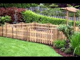 Small Picture Cheap garden fencing ideas YouTube