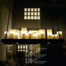 ikea hanging candle chandelier metal industrial farmhouse
