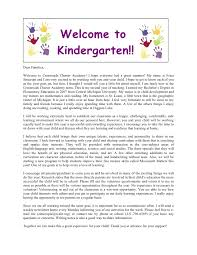 Teacher Welcome Letter To Parents Magdalene Project Org