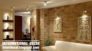 interior wall designs for living room modern stone wall tiles in