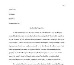macbeth tragic hero essay conclusion is macbeth a typical tragic hero english literature essay uk essays