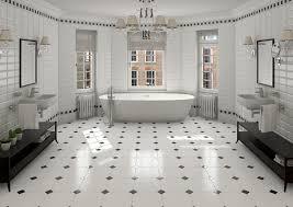 vintage bathrooms designs. Bathroom:Open Plan White Vintage Bathroom Ideas With Octagonal Floor Tiles And Oval Bathrooms Designs