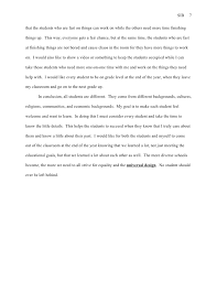 statement of informed beliefs essay projects 7
