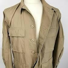Tru Spec Jacket Sizing Chart Tru Spec Mens Button Up Multi Pocket Tan Jacket Size Med