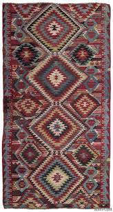 red turkish vintage kilim rug 5 2 x 9 10 62 in x 118 in
