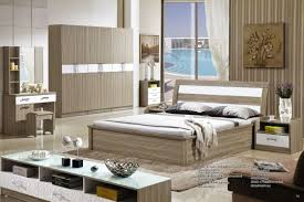 Mdf Bedroom Furniture China Professional Mdf Ash Wood King Size Bed Home Furniture