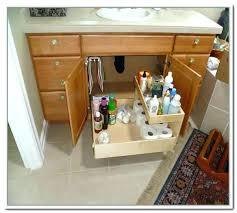 under cabinet storage ideas bathroom under cabinet storage under kitchen sink storage solutions home design ideas