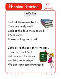 Jolly phonics s lesson pack. Reading Comprehension Worksheet Let S Go Reading Worksheets Reading Comprehension Phonics Reading Passages