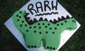 Dino Birthday Cake Kidspot