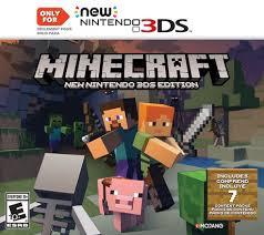 Wii U Spiele Charts Minecraft New Nintendo 3ds Edition In 2019 Nintendo 3ds